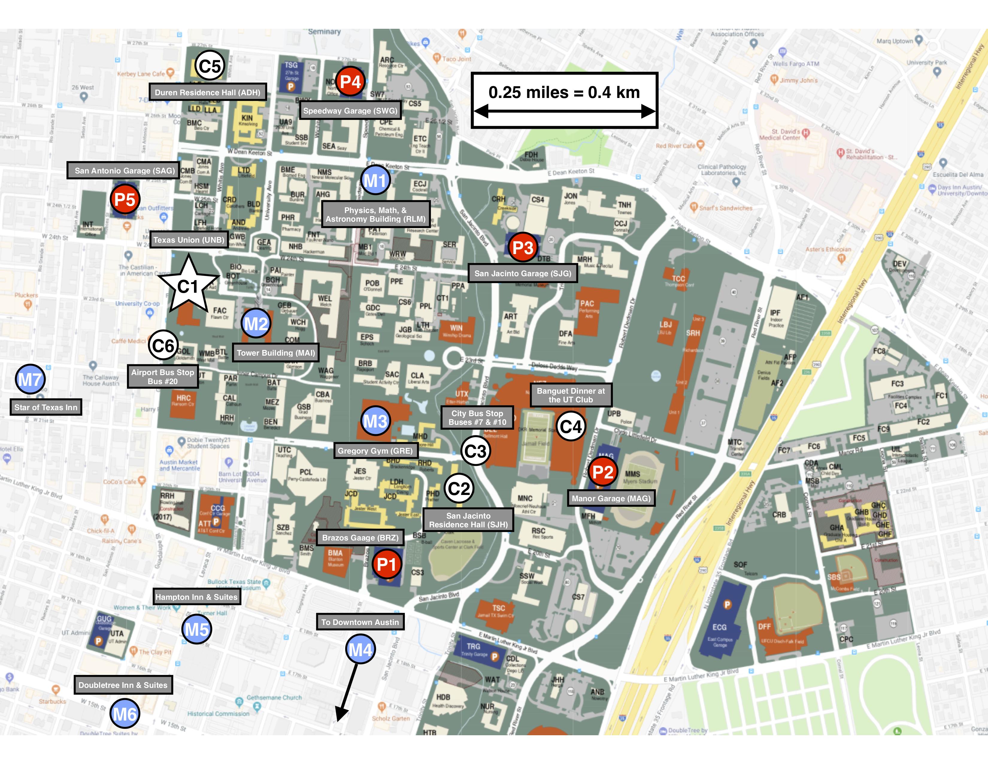 University Of Texas Campus Map Austin Info | eurowd21