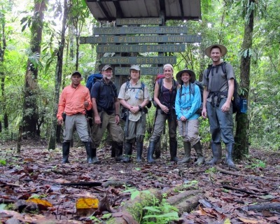 Darien Gap in summer 2014