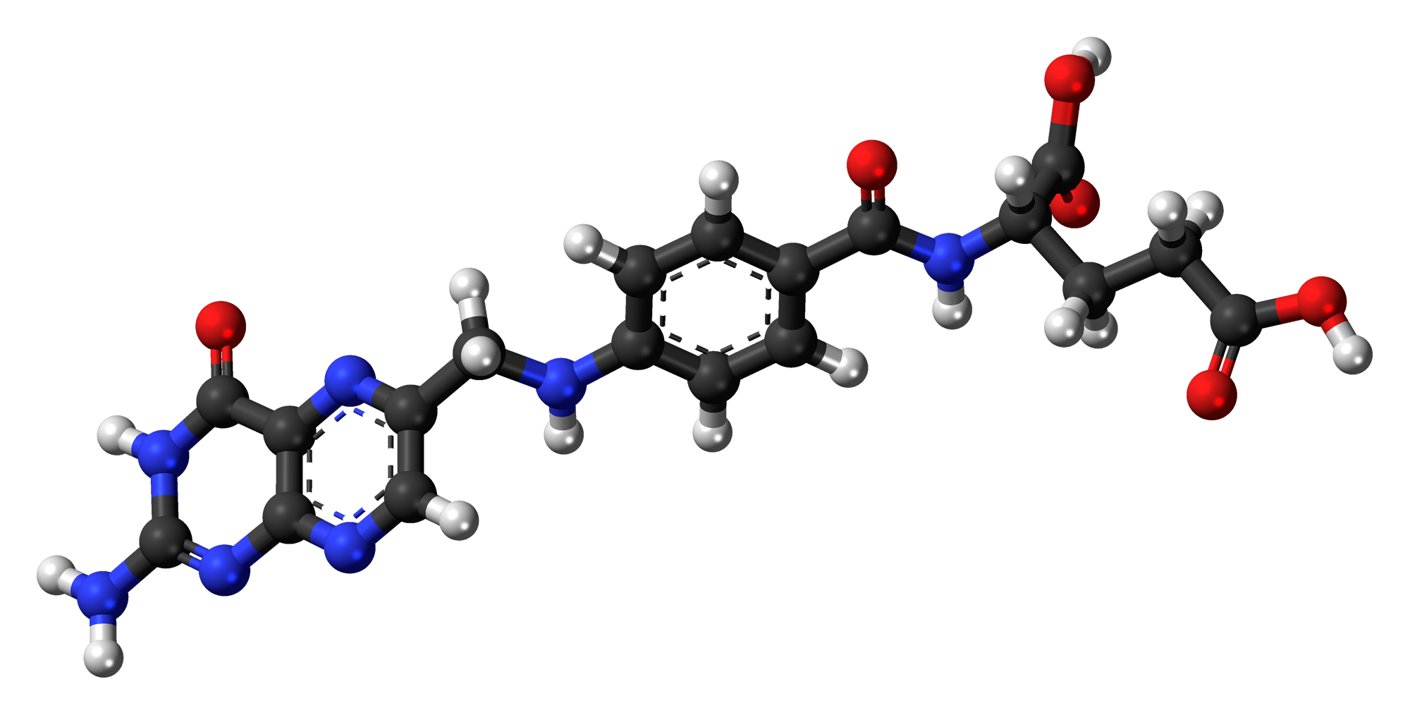 Folic Acid Molecule