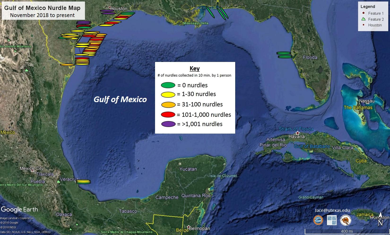 Gulf map
