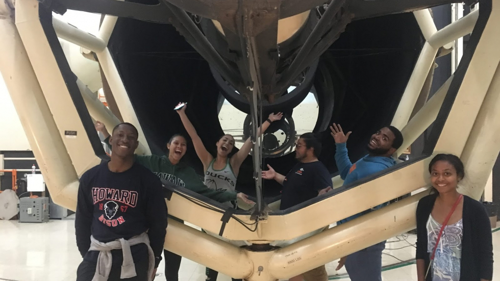 2018 Taurus scholars at the McDonald Observatory