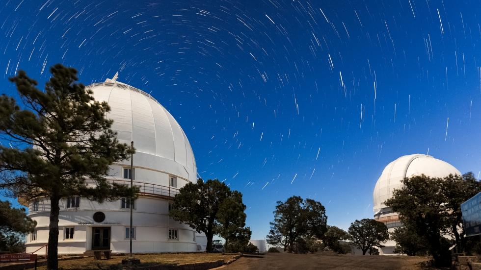 McDonald observatory domes