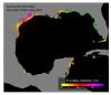 may 19 Gulf nurdle map