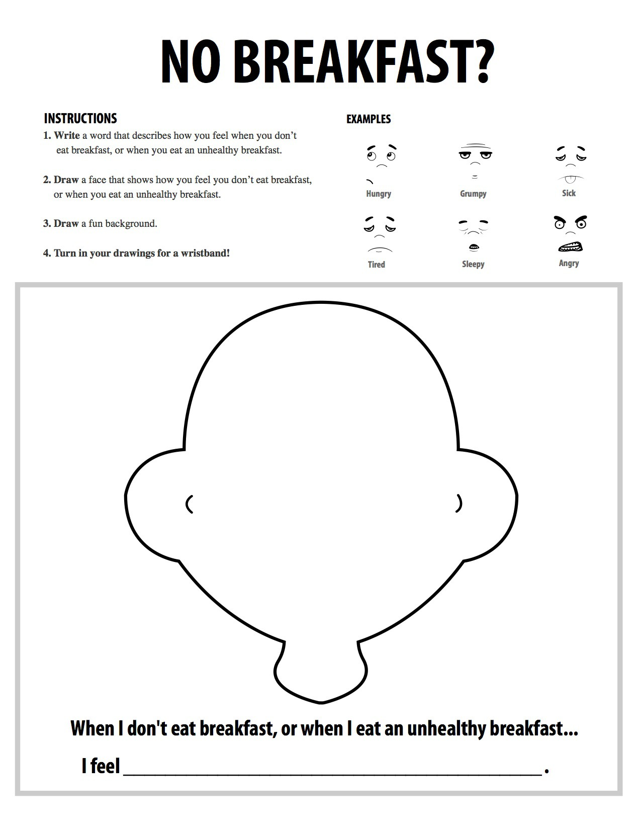 Printables 2nd Grade Health Worksheets galleries texas healthy habits breakfast coloring activity 2 jpg